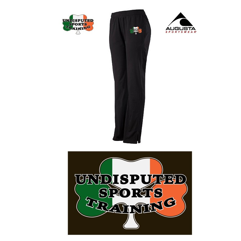 Undisputed Sports Training Augusta Solid Brushed Tricot Pant, Ladies, 7728