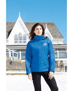 Ash City - Core 365 Ladies' Region 3-in-1 Jacket with Fleece Liner 78205