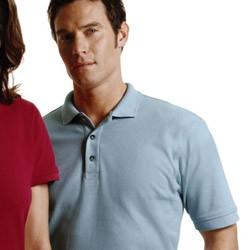 Harriton Men's 6 oz. Ringspun Cotton Piqué Short-Sleeve Polo Sport Shirt M200