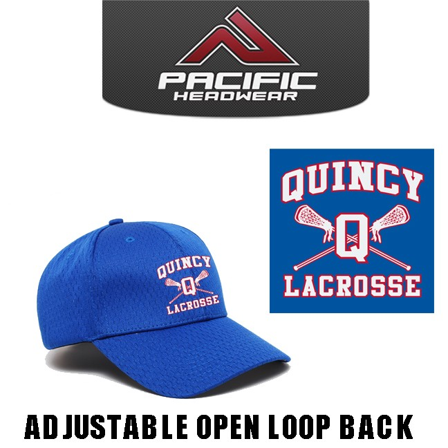 Quincy Lacrosse Pacific Headwear Brand 805M Coolport Mesh Cap, Adjustable