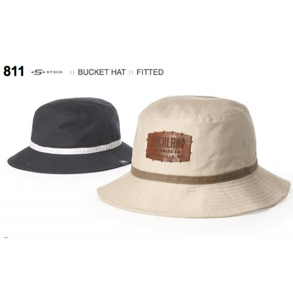 Richardson Brand S Stock 811 Bucket Hat, Fitted