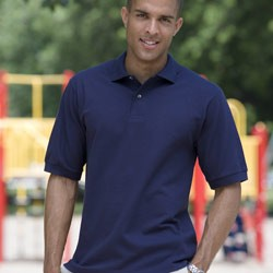 Jerzees Men's 6.5 oz. Ringspun Cotton Piqué Polo 440