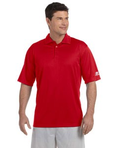 Russell Athletic Men's Team Essential Polo, Performance Material