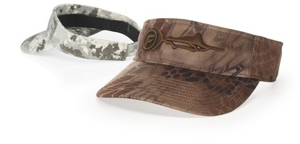 Richardson 848 Cotton Twill Camo Visor