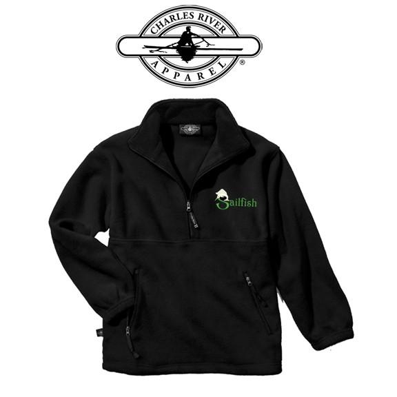 Sailfish Swim Team Charles River Brand Adirondak Fleece Pullover (Adult Unisex)