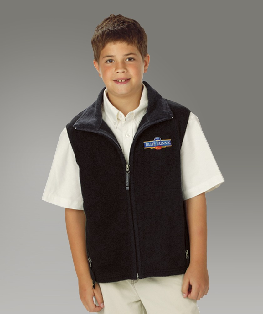 Charles River Youth Ridgeline Fleece Vest