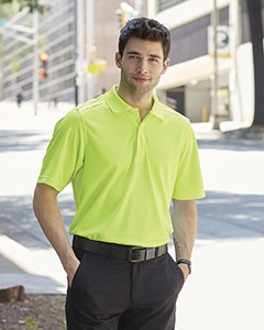 Ash City - Core 365 Men's Radiant Performance Piqué Polo with Reflective Piping 88181R