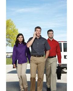 Ash City - Core 365 Men's Tall Optimum Short-Sleeve Twill Shirt 88194T