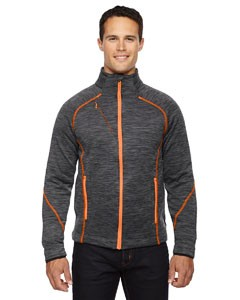 Ash City - North End Sport Red Men's Flux Mélange Bonded Fleece Jacket