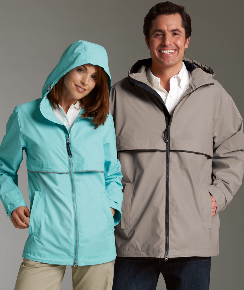 Charles River New Englander Rain Jacket, Men & women Versions