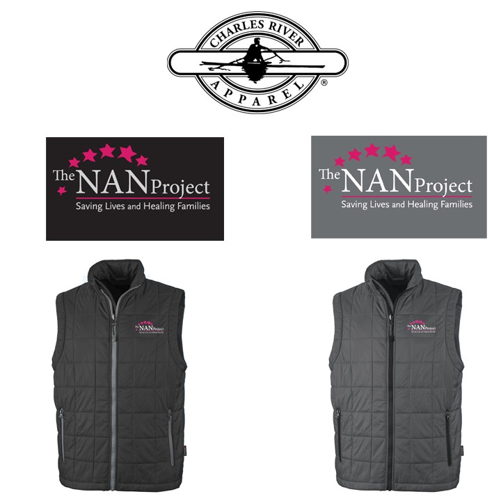 The NAN Project Charles River Brand Men's Radius Quilted Vest
