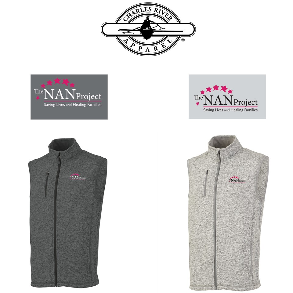 The NAN Project Charles River Brand Pacific Heathered Vest for Men