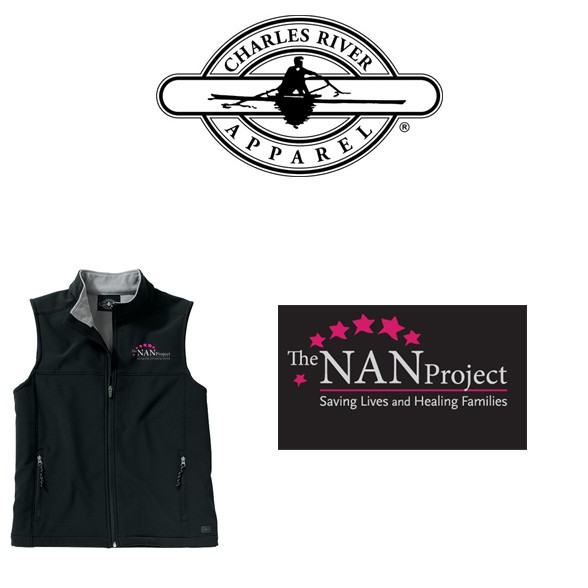 The NAN Project Charles River Classic Soft Shell Vest for Men