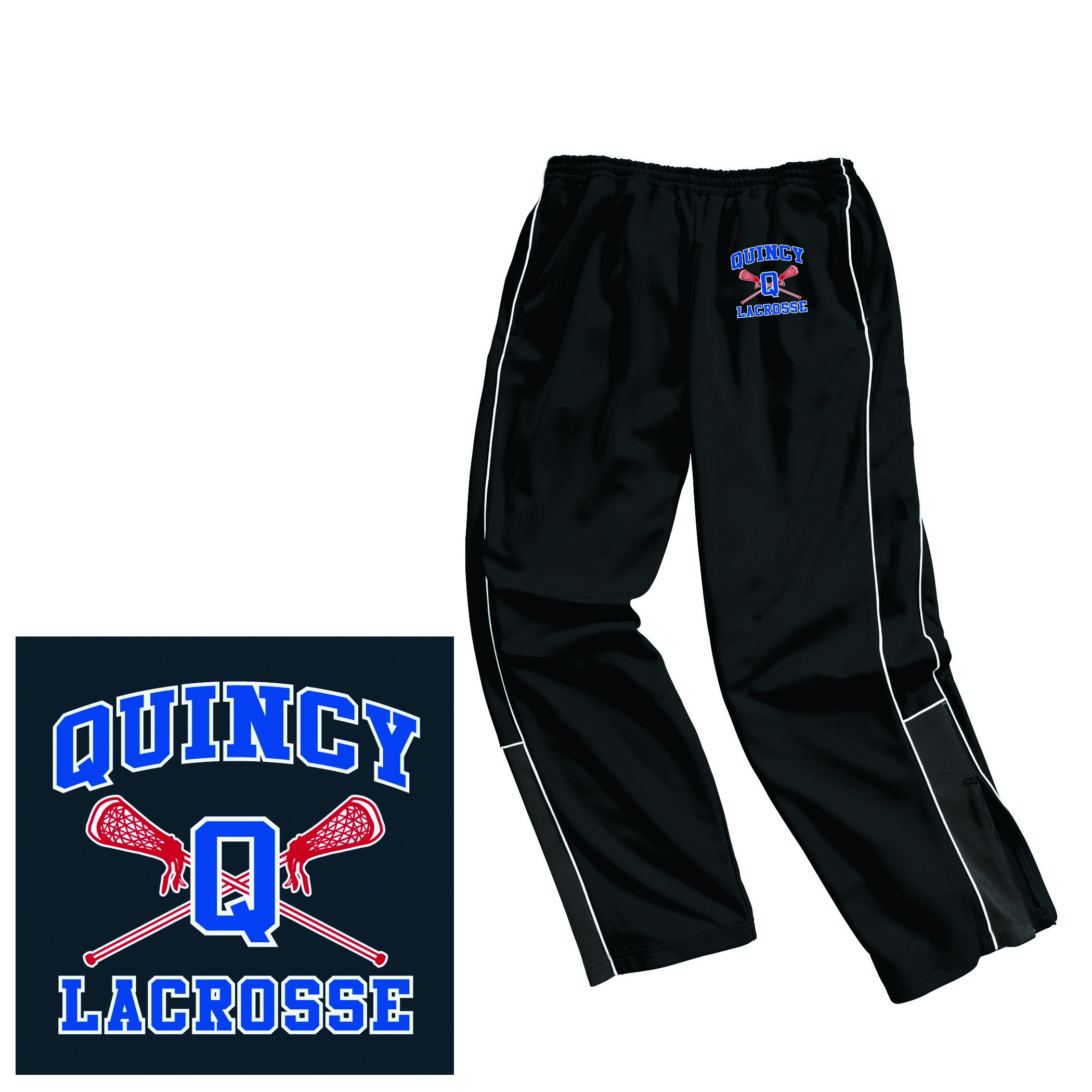 Quincy Lacrosse Chartles River Men's Olympian Pant 9985