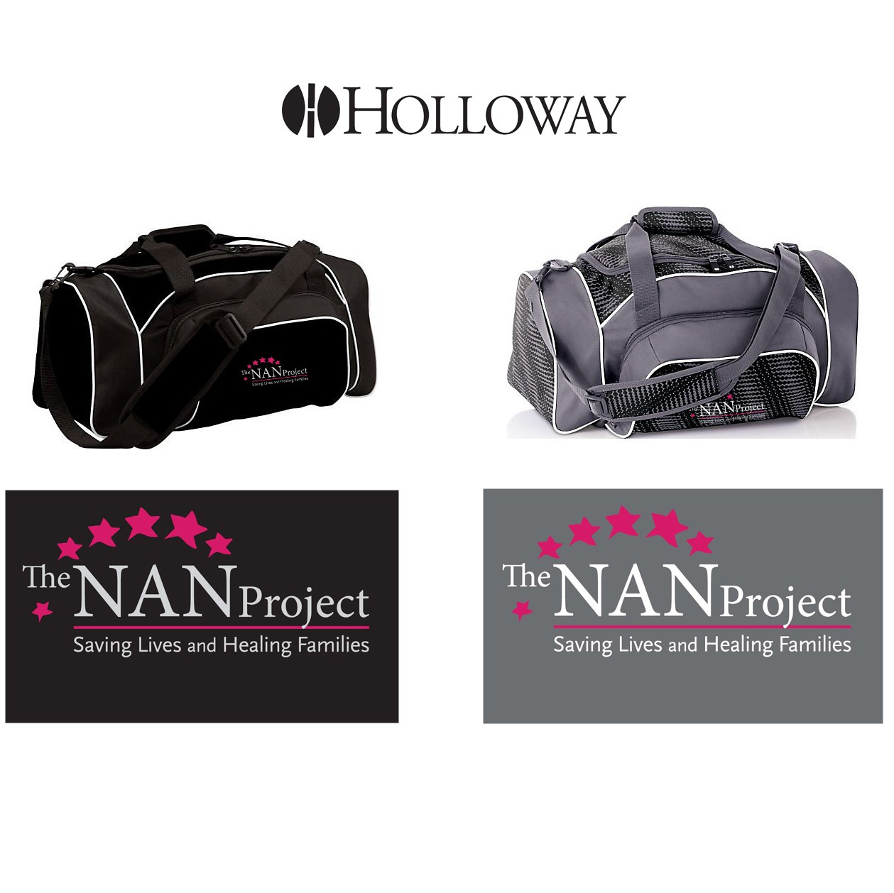 The NAN Project Holloway League Duffel Bag