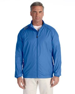 adidas Golf Men's 3-Stripes Full-Zip Jacket