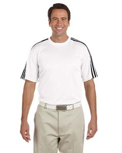 Adidas Golf Men's climalite® 3-Stripes T-Shirt, Performance Material