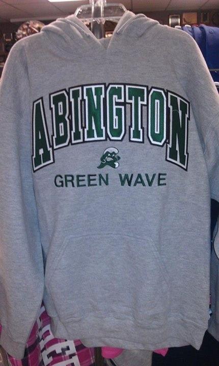 Abington Greenwave Custom Sweatshirt