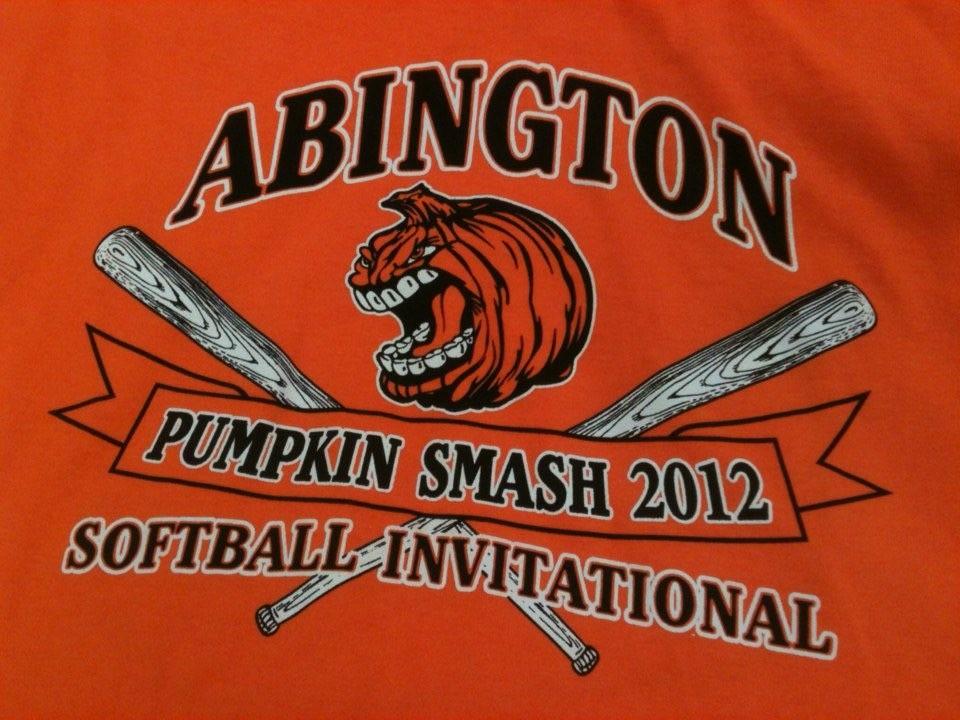 Abington Pumpkin Smash 2012 Softball International