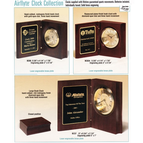 Airflyte Brand Clock Collection