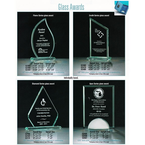 Airflyte Brand Glass Awards