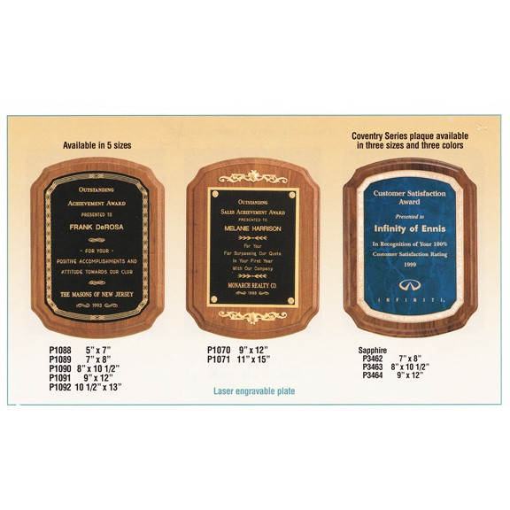 Airflyte Premium Piano Finish Plaques (Multiple Series)