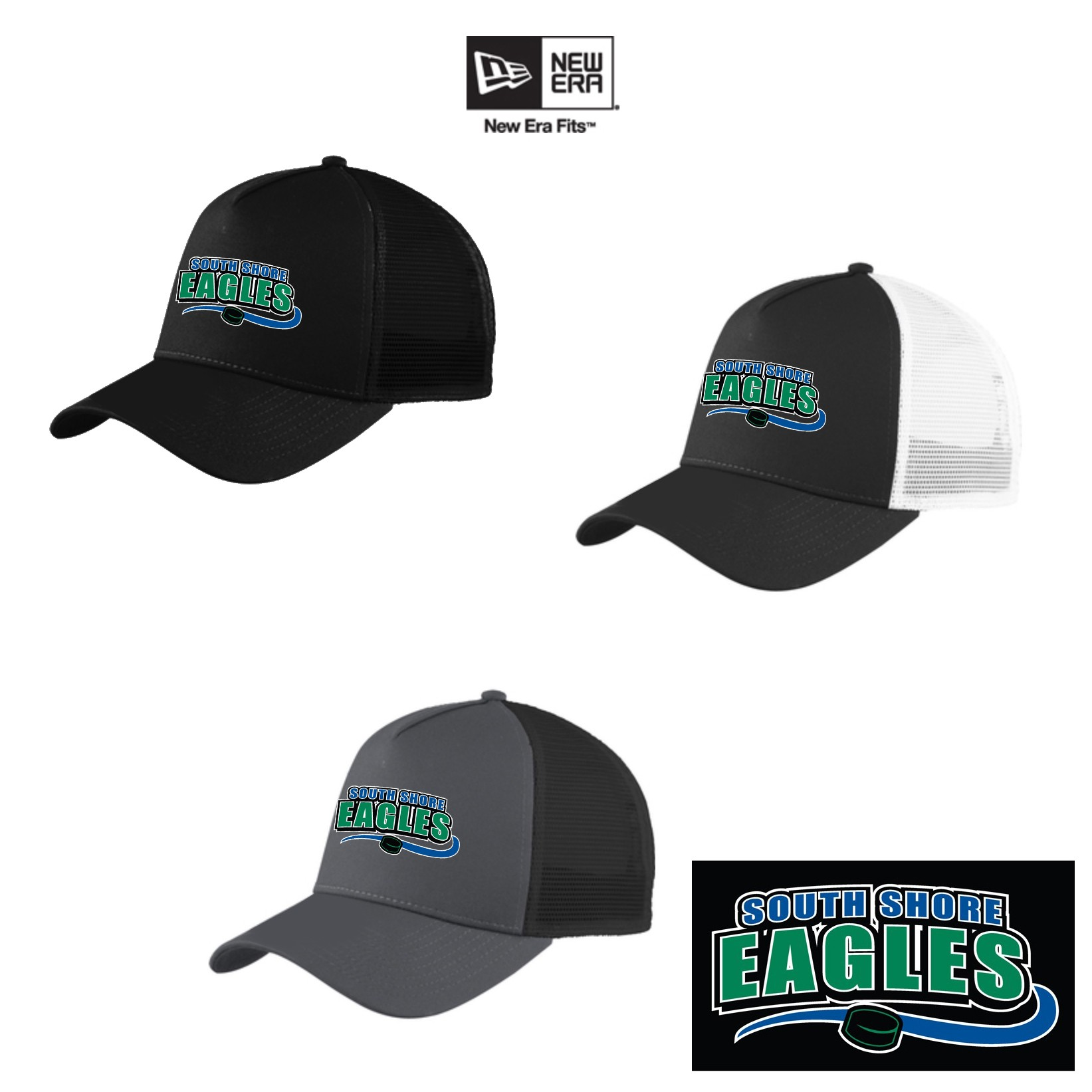 South Shore Eagles New Era® Snapback Trucker Cap NE205