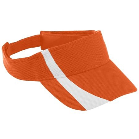 Augusta ADJUSTABLE WICKING MESH TWO-COLOR VISOR - YOUTH