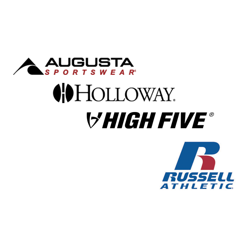 SIZE CHART- Augusta, Holloway, High Five, Russell Athletic