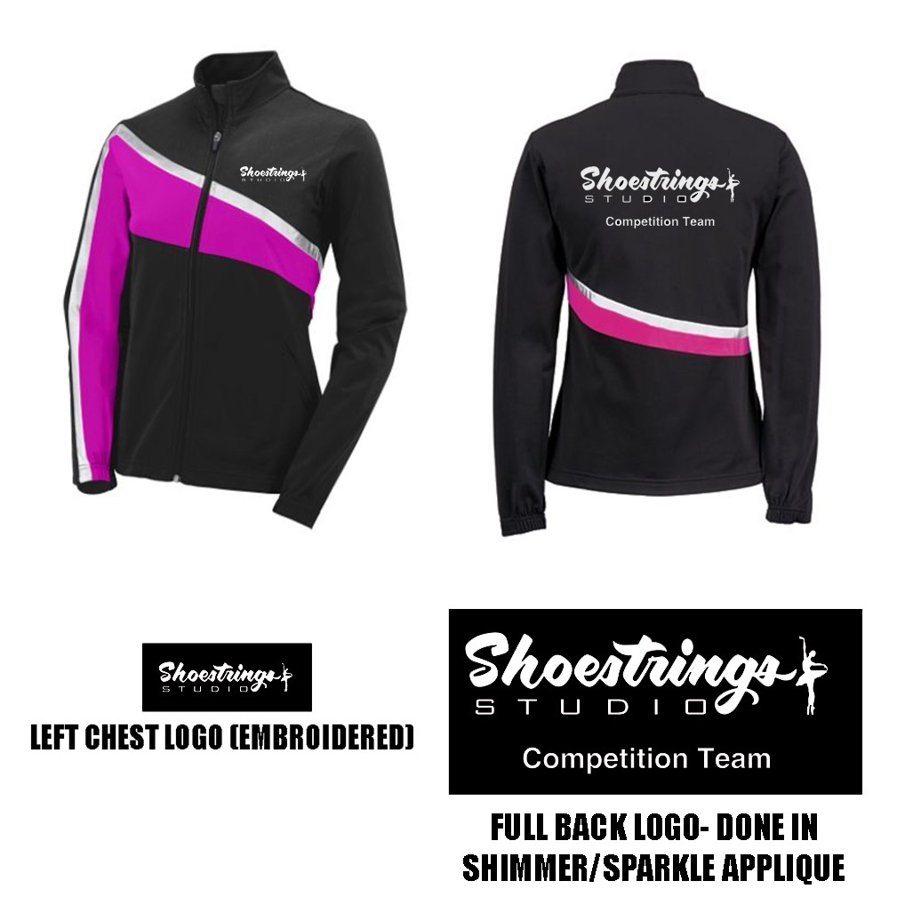 Shoestrings Studio Augusta Aurora Jacket, Girls, Model 7736- NOTE: FOR COMPETITION TEAM ONLY