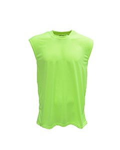 Bright Shield Adult Performance Sleeveless Shooter Tee B199