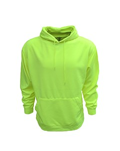 Bright Shield Adult Performance Pullover Hood with Bonded Polar Fleece B309