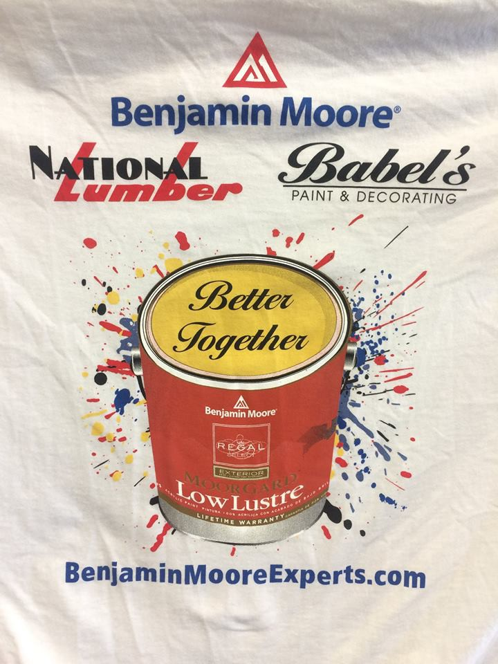Benjamin Moore for National Lumber & Babel's