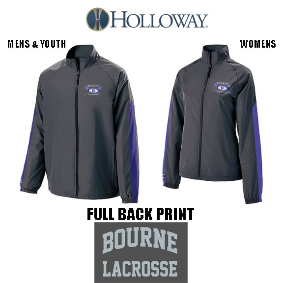 Bourne Lacrosse Holloway Brand Bionic Jacket