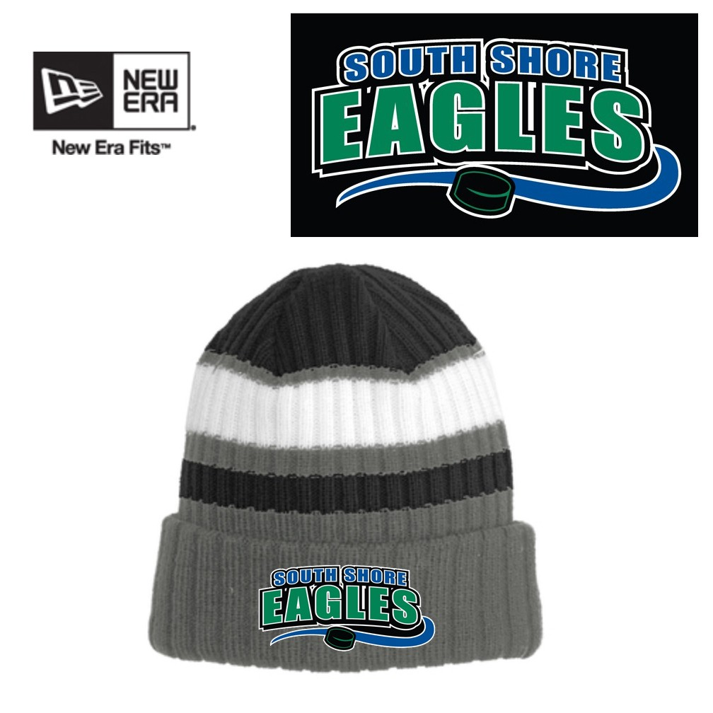 South Shore Eagles New Era® Ribbed Tailgate Beanie NE903