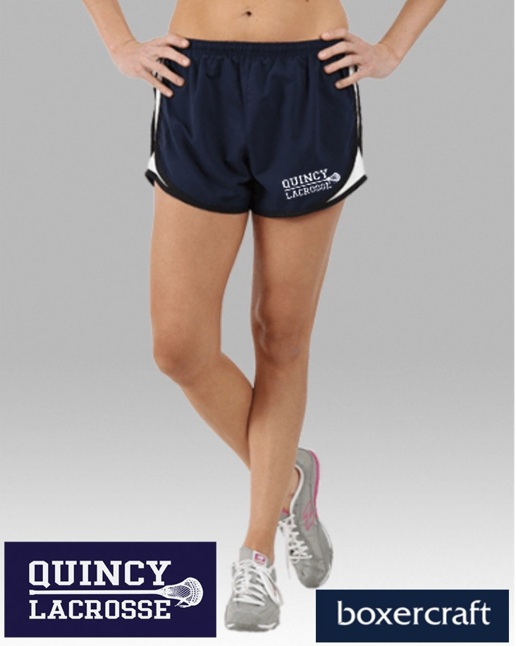 Quincy Lacrosse Boxercraft Velocity Short for Ladies (part of the b*sport practice line)