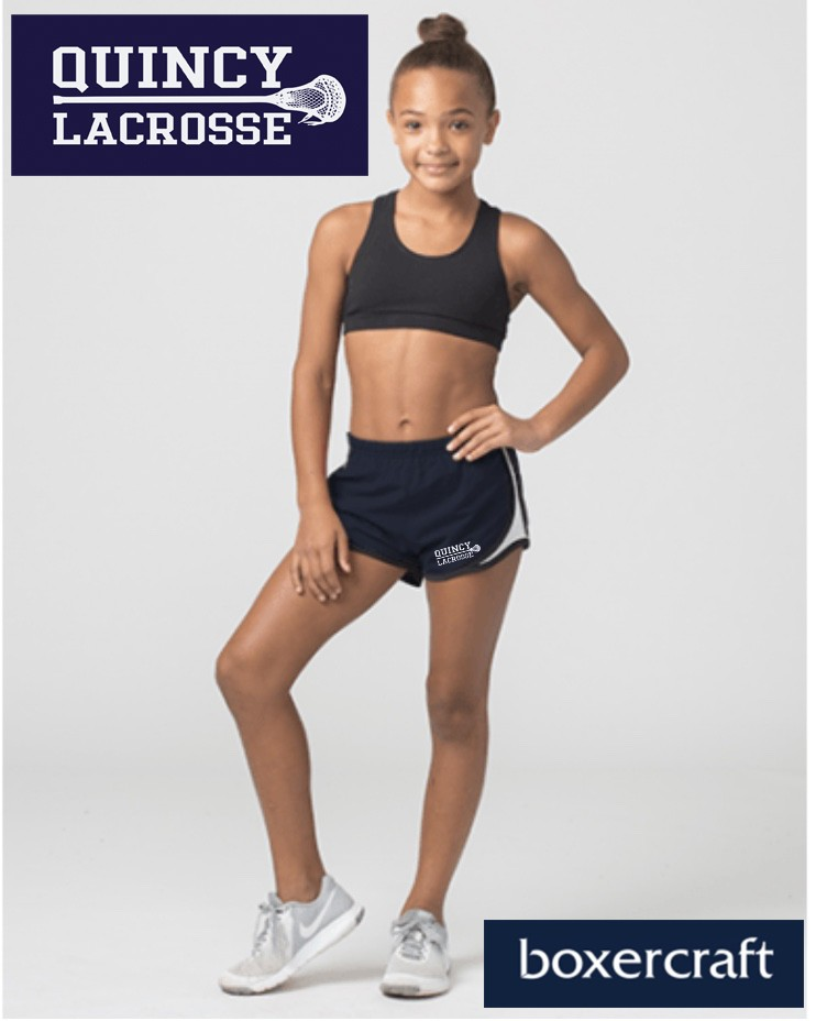 Quincy Lacrosse Boxercraft Velocity Short for Girls (part of the b*sport practice line)