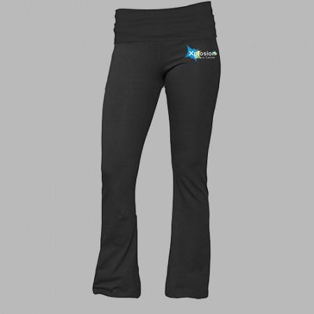 Xplosion Dance Center Boxercraft Practice (Yoga) Pants For Girls & Ladies, HIP LOGO VERSION