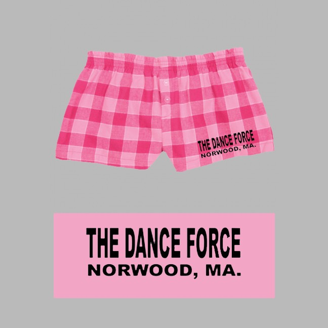 Dance Force Boxercraft Bubblegum Plaid Bitty Boxer