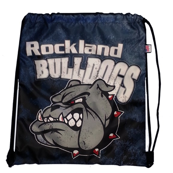 Town of Rockland Rockland Bulldogs Limited Edition Sublimated Cinch Bag