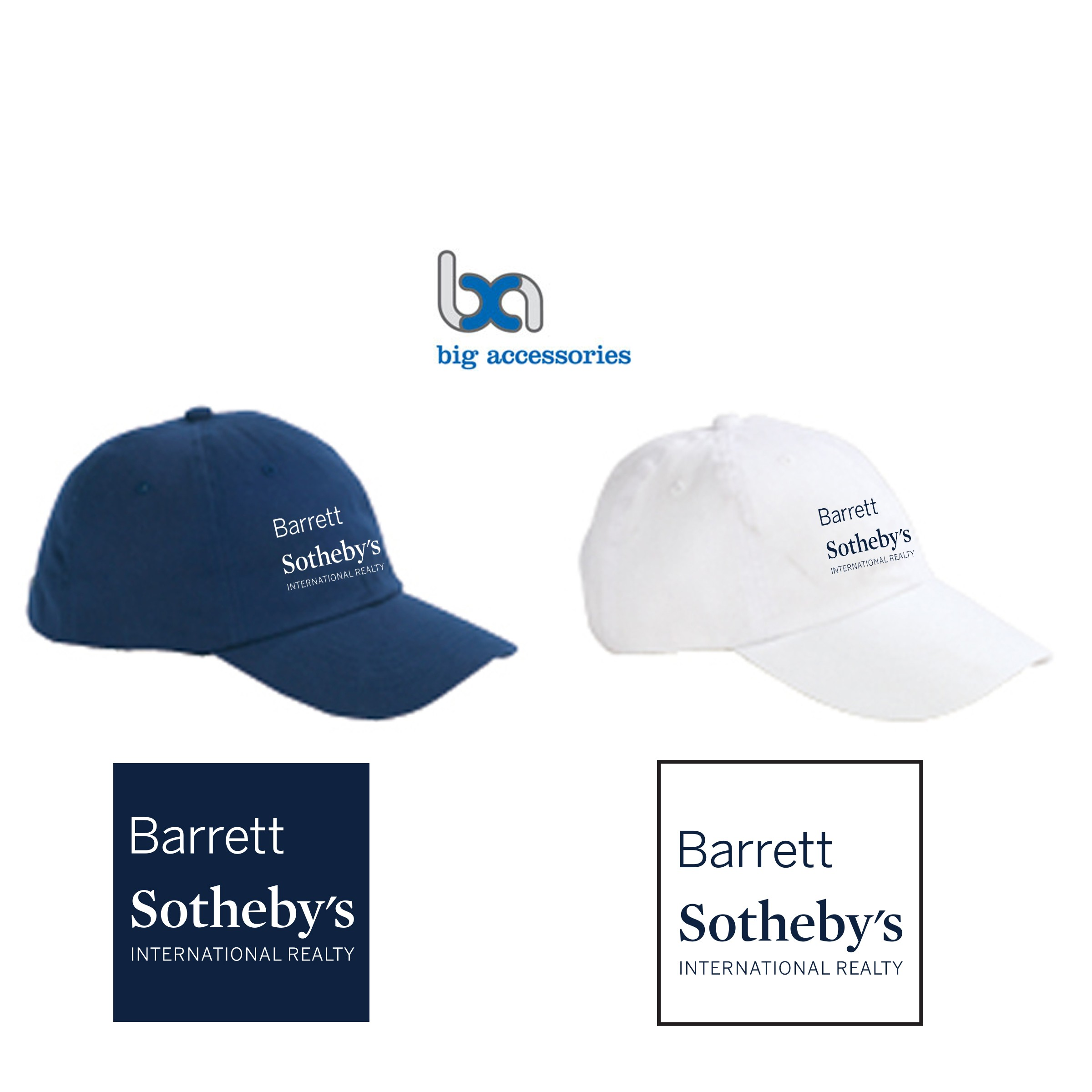 Barrett Sotheby's Big Accessories Unstructured Six Panel Brushed Twill Cap