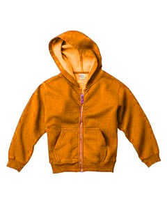 Comfort Colors Drop Ship Youth 10 oz. Garment-Dyed Full-Zip Hooded Sweatshirt