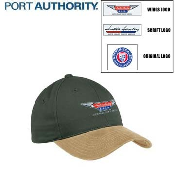 AHCA STEP- IN PROGRAM: Port Authority Two-Tone Brushed Twill Cap, Embroidered Logo, Universal Fit, Style Number #C815