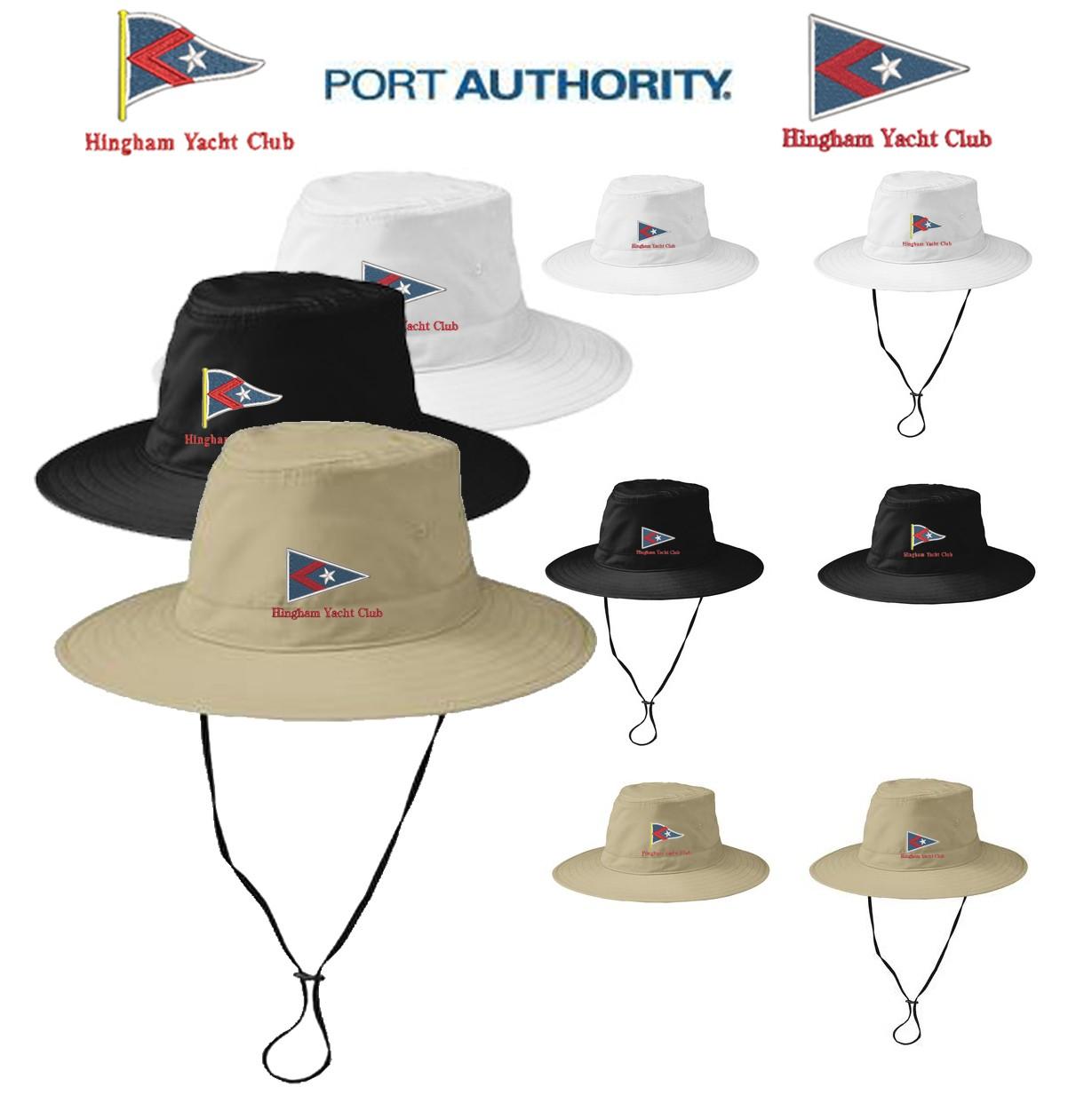 Hingham Yacht Club Port Authority® Lifestyle Brim Hat C921