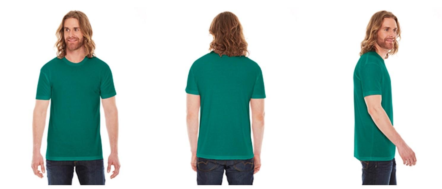 American Apparel Unisex Poly-Cotton Crew Neck T-Shirt BB401W
