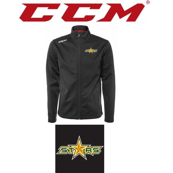 Coastal Stars CCM Team Soft Shell Hockey Jacket ADULT