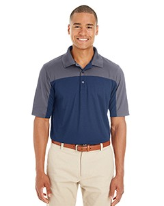 Ash City - Core 365 Men's Balance Colorblock Performance Piqué Polo CE101