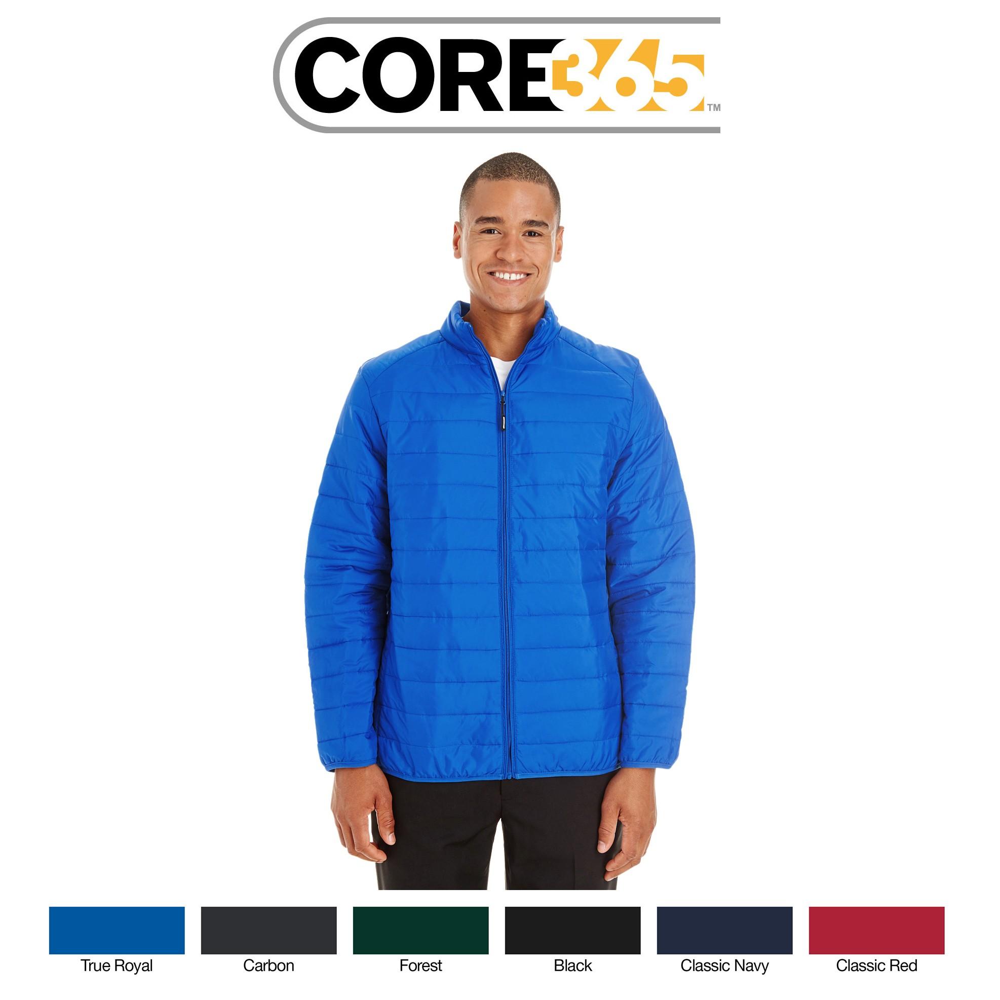 Ash City - Core 365 Men's Prevail Packable Puffer Jacket CE700