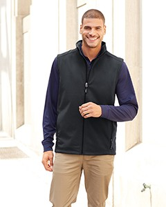 Ash City - Core 365 Men's Cruise Two-Layer Fleece Bonded Soft Shell Vest CE701