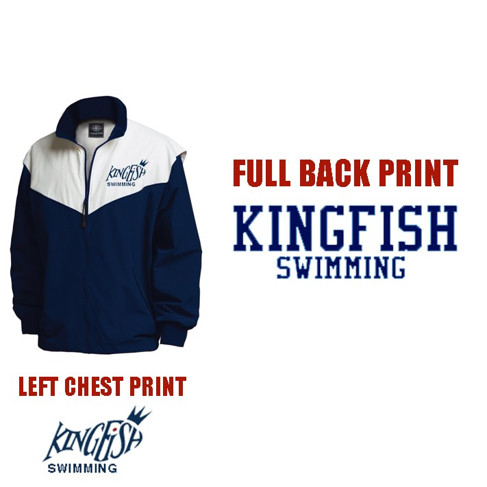 Kingfish Swim Team Charles River Championship Jacket